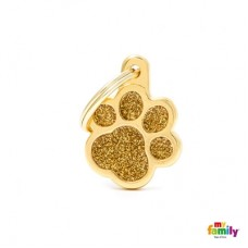 Big Paw Glitter Gold