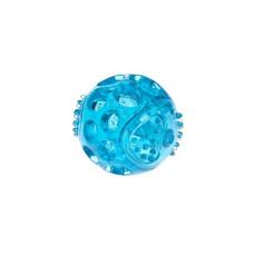 Bola em Borracha Termoplástica c/apito Azul