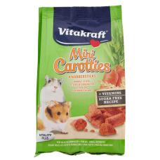 Snack roedor com cenoura