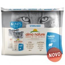 Almo Cat Holistic Multipack sterilised (6*70g)
