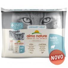 Almo Cat Holistic Multipack Urinary (6*70g)