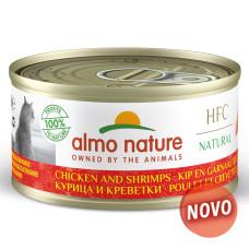 Almo Nature Natural de Frango e Gambas