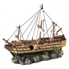 Decoração barco à vela