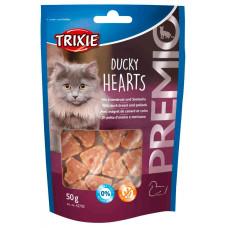 Snack Corações c/peito de Pato e Peixe