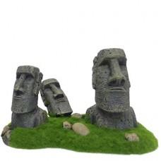 Decoração ilha moai da páscoa