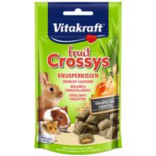 FRUIT CROSSYS ROEDORES FRUTAS TROPICAIS